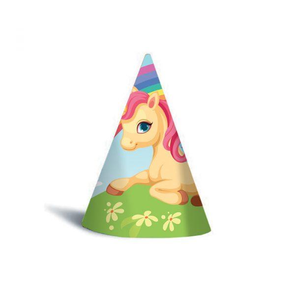 6 Cappellini Unicorni