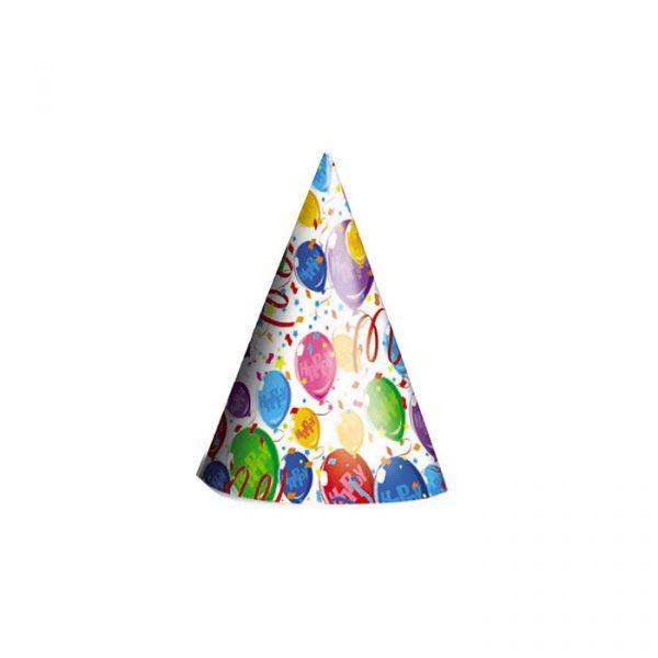 6 Cappellini Happy Balloons