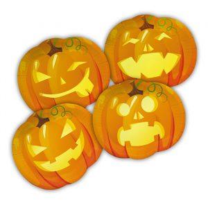 8 Piatti MIX 29 x 25 cm Pumpkins