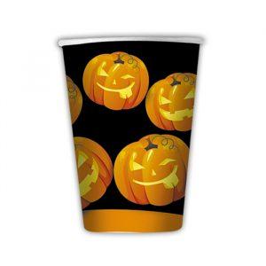 8 Bicchieri 200 cc Pumpkins