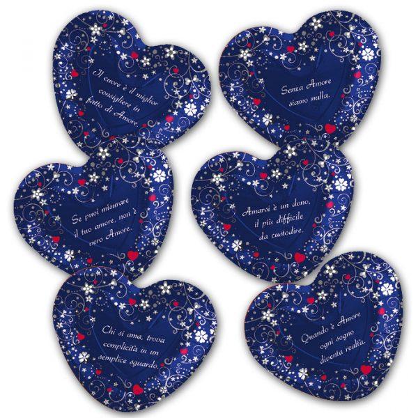 6 Piatti 26 x 24 cm Love Message