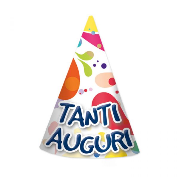 6 Cappellini Tanti Auguri Big Party