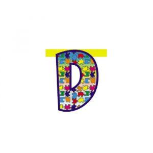 Lettera Componibile Lux 20 cm - D