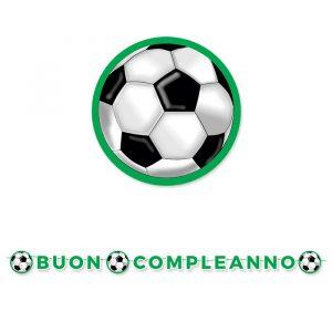 Festone Kit Scritta Maxi 600 x 25 cm Calcio