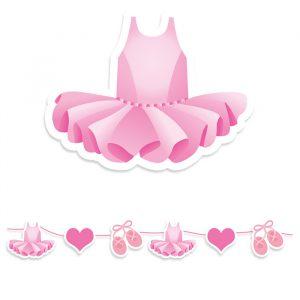 Festone Kit Maxi 600 x 25 cm I Love Ballet
