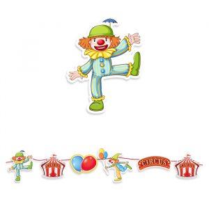 Festone Kit Maxi 600 x 25 cm Circus Party