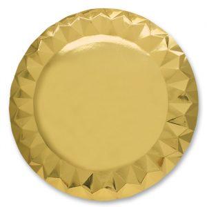 5 Sottopiatti Diamant Ø 32 cm Gold
