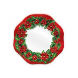 8 Piatti Ø 18 cm Christmas Time