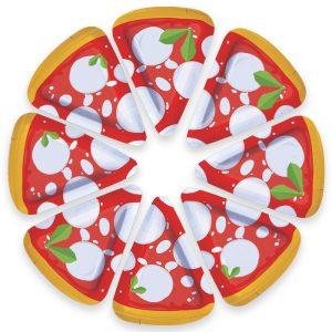 8 Piatti MIX 19 x 25 cm Pizza Party