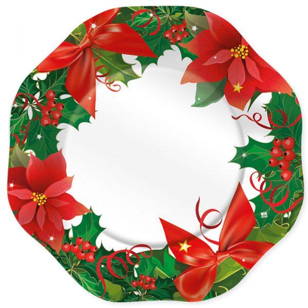 5 Sottopiatti Ø 32 cm Christmas Harmony