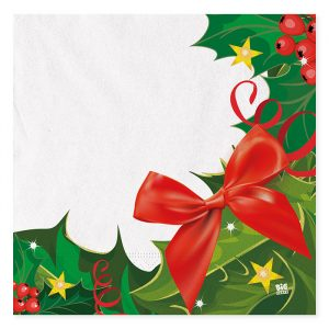 20 Tovaglioli 33 x 33 cm Christmas Harmony