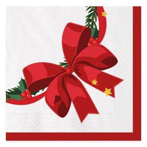 20 Tovaglioli 33 x 33 cm Sweet Christmas