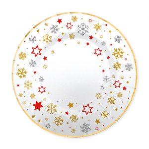 8 Piatti Ø 20 cm Stars