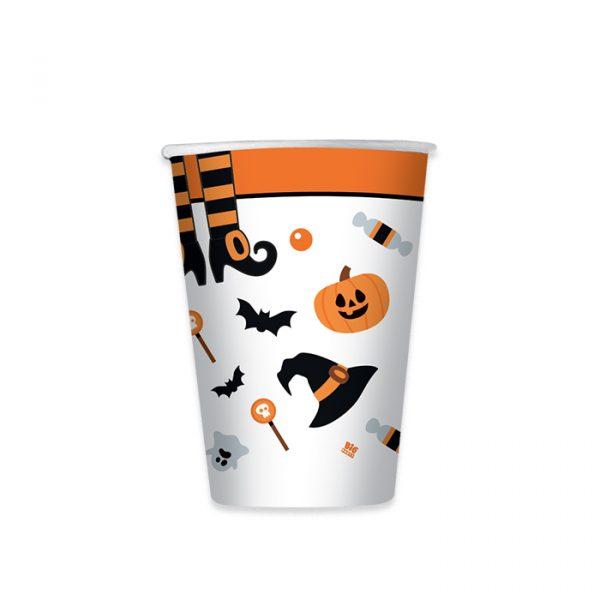 8 Bicchieri 200 cc Halloween