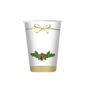 8 Bicchieri 200 cc Christmas Chic