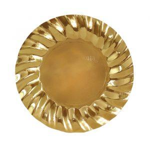 8 Piatti Ø 20 cm Wavy Gold
