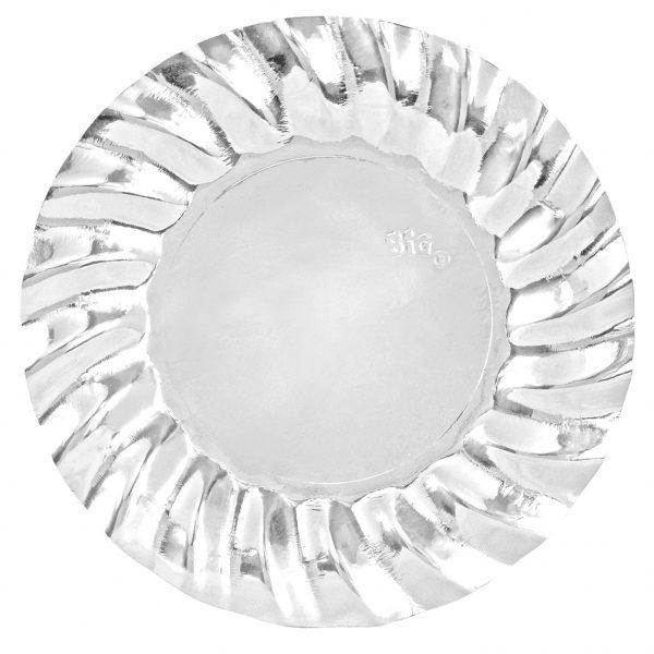 6 Piatti cm.30 Wavy Silver