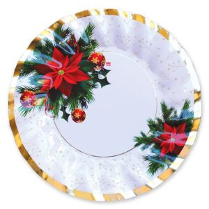 6 Piatti 30 cm Christmas Mood