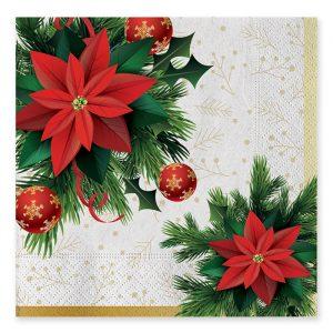 20 Tovaglioli 33 x 33 cm Christmas Mood