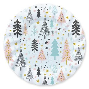 6 Piatti 30 cm Christmas Vibes