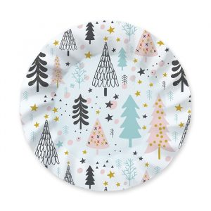 8 Piatti 25 cm Christmas Vibes