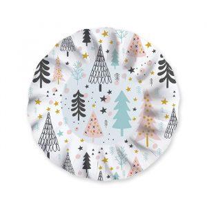 6 Piatti Fondi 24 cm Christmas Vibes