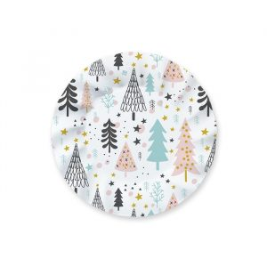8 Piatti 20 cm Christmas Vibes