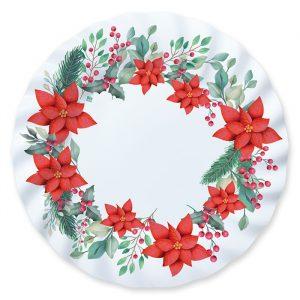 6 Piatti ? 30 cm Christmas Tradition