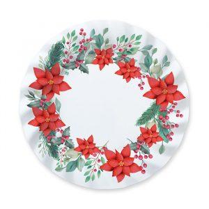 8 Piatti 25 cm Christmas Tradition