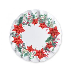 6 Piatti Fondi 24 cm Christmas Tradition