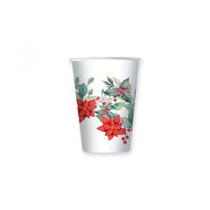 8 Bicchieri 200 cc Christmas Tradition