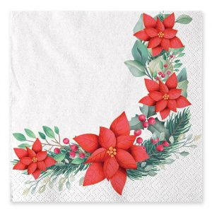 20 Tovaglioli 33 x 33 cm Christmas Tradition
