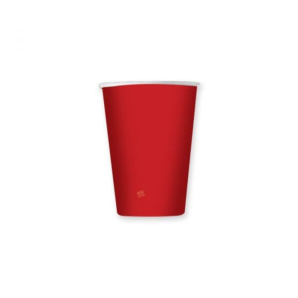 8 Bicchieri 200 cc Red