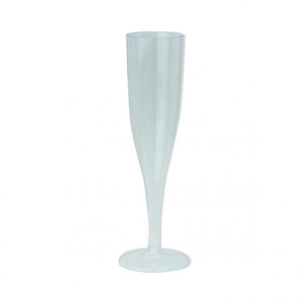 6 Maxi Flute in plastica Full Crystal