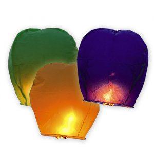Lanterna Dei Cieli 100 cm Colori Assoriti