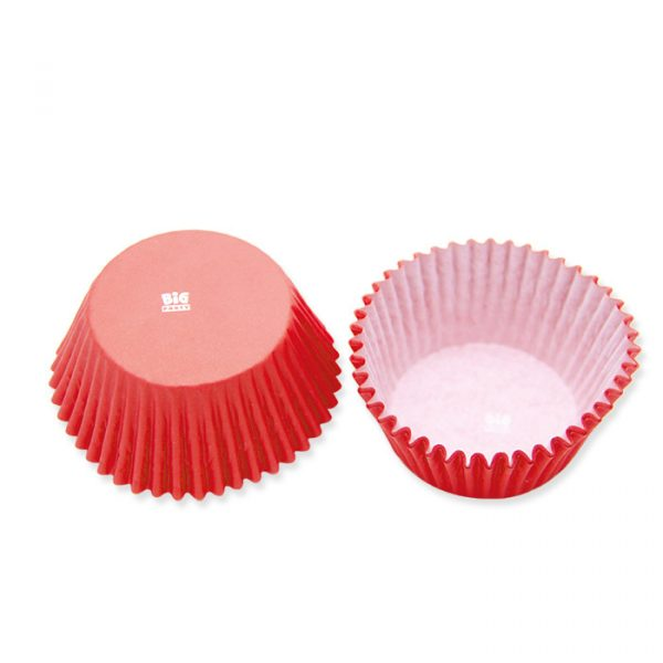 48 Pirottini in carta alimentare Ø 50 - h 32 mm Rosso