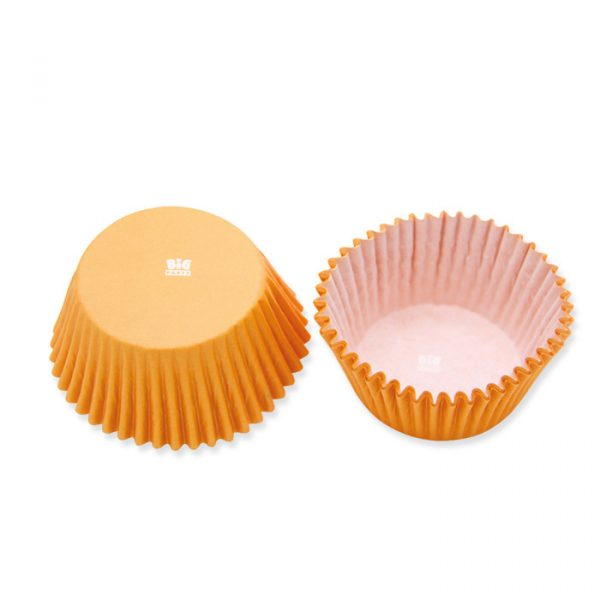 48 Pirottini in carta alimentare Ø 50 - h 32 mm Arancio