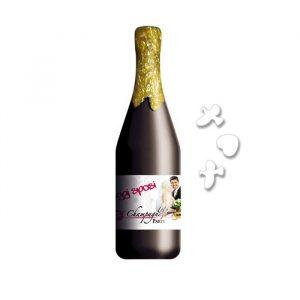 Champagne Sparacoriandoli 30 cm Oggi Sposi