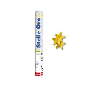 Cannon Sparacoriandoli 30 cm Stelle Oro Metal