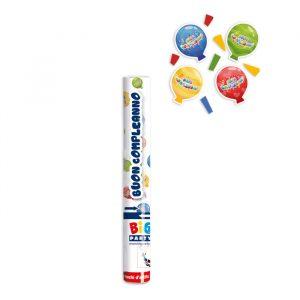 Cannon Sparacoriandoli 30 cm Buon Compleanno Balloon