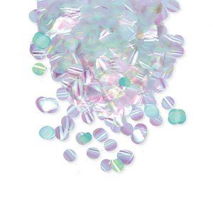 Coriandoli in foil Ø 2 cm Tondi 50 gr Iridescenti