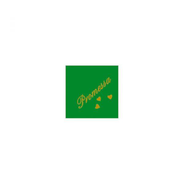 20 Tovaglioli Verdi 25 x 25 cm Promessa