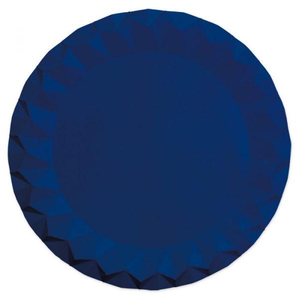 5 Sottopiatti Diamant Ø 32 cm Blu