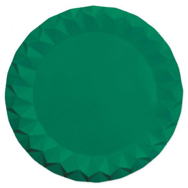 5 Sottopiatti Diamant Ø 32 cm Verdi