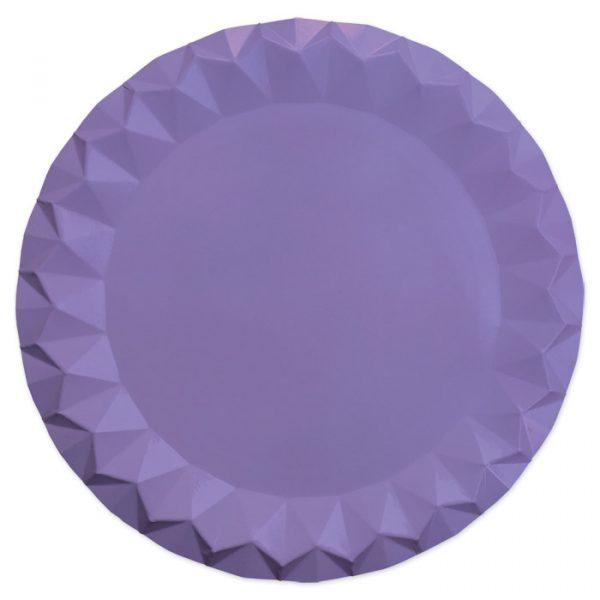 5 Sottopiatti Diamant Ø 32 cm Glicine