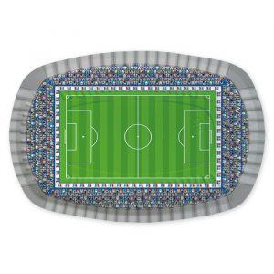 5 Vassoi Rectangle 20 x 30 cm Stadio Calcio