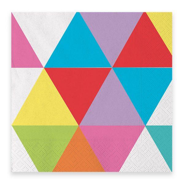20 Tovaglioli 33 x 33 cm Color Wheel