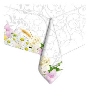 Tovaglia in plastica 140 x 270 cm Bouquet