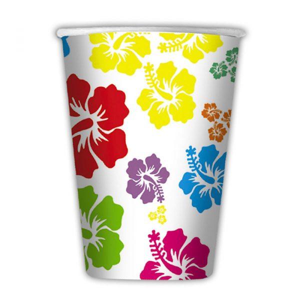 8 Bicchieri 200 cc Hawaii