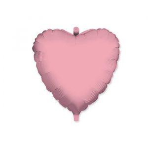 "Palloncino Mylar 18"" Cuore Rosa"